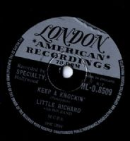 Little Richard - Keep A Knockin'/|Can't Believe You Wanna Leave (HLO 8509) 78 rpm